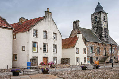 Photograph - Frozen In Time 2. Culross Sketches. Scotland by Jenny Rainbow