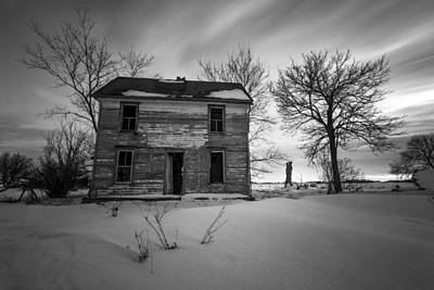 Photograph - Frozen In Time Bw Version by Aaron J Groen