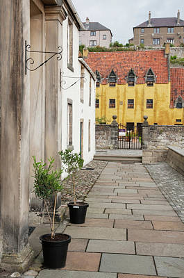 Photograph - Frozen In Time. Culross Sketches. Scotland by Jenny Rainbow