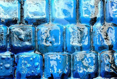 Photograph - Frozen Keyboard by Stephen Dorsett