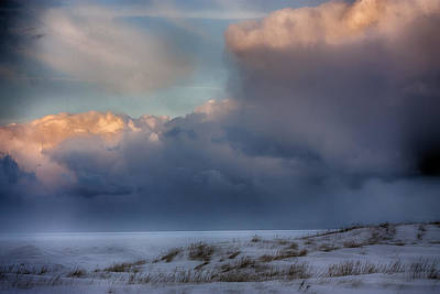 Photograph - Frozen Lake Michigan by Christopher Purcell
