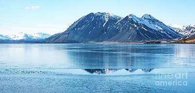 Frozen Lake Print by Svetlana Sewell