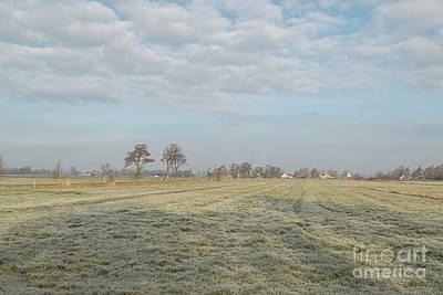 Photograph - Frozen Landscape by Patricia Hofmeester