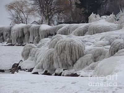 Photograph - Frozen  by Linda Xydas