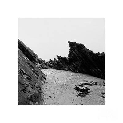 Photograph - Frozen Moments - Artist On A Beach 1 by Paul Davenport