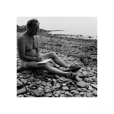 Photograph - Frozen Moments - Artist On A Beach 3 by Paul Davenport