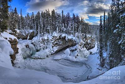 Photograph - Frozen Paradise At Sunwapta by Adam Jewell