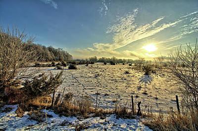 Photograph - Frozen Pasture by Bonfire Photography