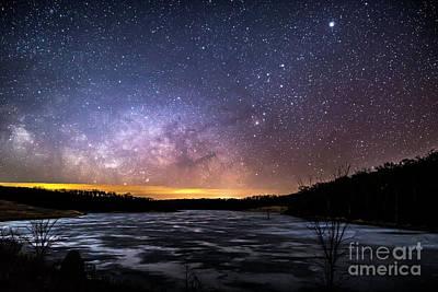 Photograph - Frozen Path To The Stars by Willard Sharp