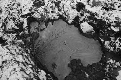 Thomas Kinkade - Frozen Puddle by Two Bridges North