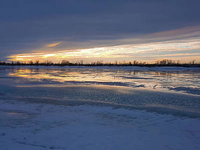 Photograph - Frozen River by Cristina Stefan