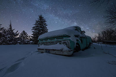 Photograph - Frozen Rust  by Aaron J Groen