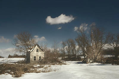 Rural Decay Photograph - Frozen Stillness by Scott Norris