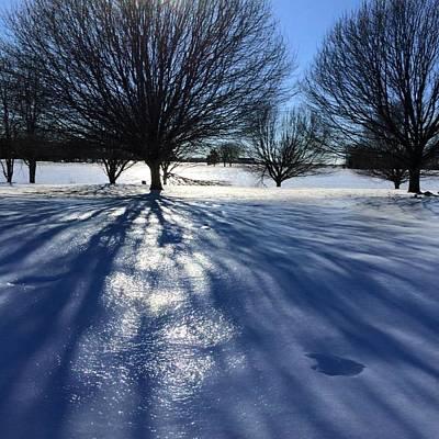 Frozen Sun Art Print