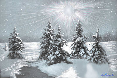 Frozen Sunshine Art Print by John Selmer Sr