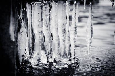 Photograph - Frozen Tears by Jill Laudenslager