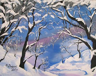 Painting - Frozen Tranquility  by Sharon Duguay