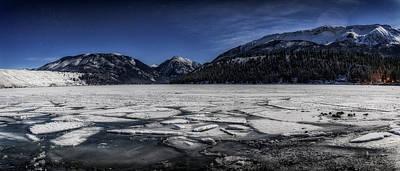 Photograph - Frozen Wallowa Lake by Cat Connor