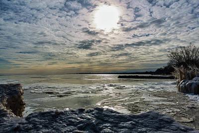 Photograph - Frozen World by CJ Schmit