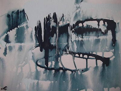 Frozen World Art Print by Rivka Waas