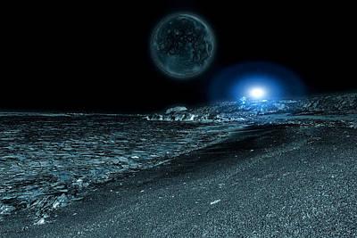 Photograph - Frozen World by Scott Hill