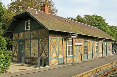 Fruens Boge Station Art Print by Olepet