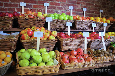 Photograph - Fruit 4 Sale  by John S
