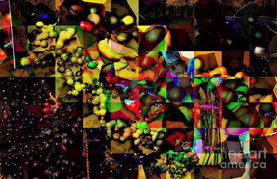 Photograph - Fruit A La Abstract by Miriam Danar