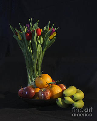 Photograph - Fruit And Flowers by Terri Waters