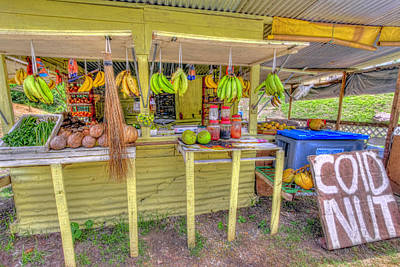 Photograph - Fruit And Vegetable Stand  by Nadia Sanowar