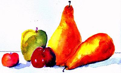 Painting - Fruit by Anne Duke