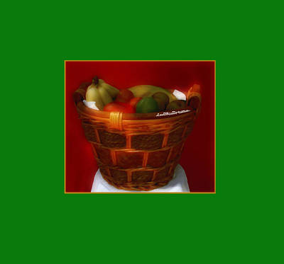 Digital Art - Fruit  Art 5 by Miss Pet Sitter