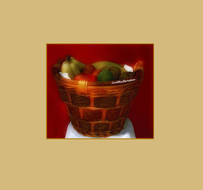Digital Art - Fruit  Art 9 by Miss Pet Sitter