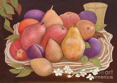 Painting - Fruit Basket by Frances  Dillon