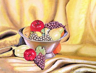 Painting - Fruit Basket by Victoria Rhodehouse