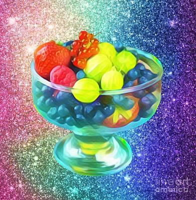 Digital Art - Fruit Bowl  by Gayle Price Thomas