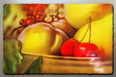 Photograph - Fruit Bowl by Leticia Latocki