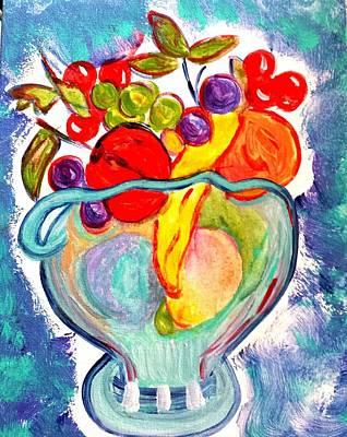 Painting - Fruit Bowl by Nikki Dalton