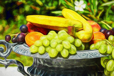 Painting - Fruit Bowl - Painting by Ericamaxine Price