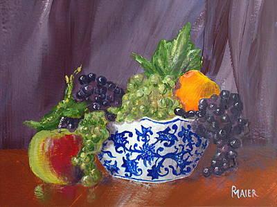 Fruit Bowl Art Print by Pete Maier