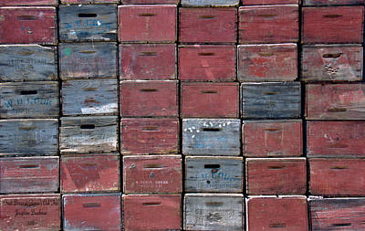 Photograph - Fruit Boxes At Gowan's Oak Tree 5310 by Josephine Buschman