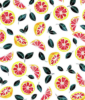 Digital Art - Fruit Crush by Uma Gokhale