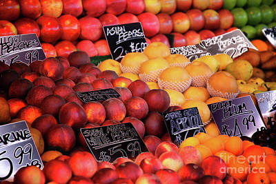 Photograph - Fruit Extravaganza by Mariola Bitner