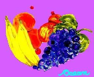 Painting - Fruit Flip by Ocean