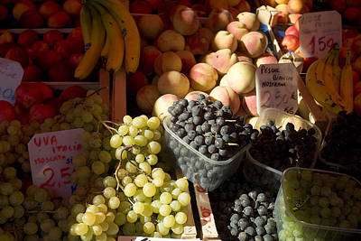 Fruit For Sale At The Rialto Market Art Print by Todd Gipstein