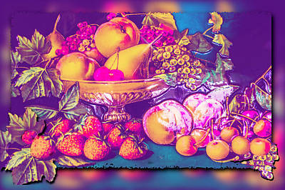 Photograph - Fruit For Thought by Leticia Latocki