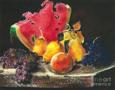 Pastel - after Lilly Martin Spencer by Jodie Marie Anne Richardson Traugott          aka jm-ART