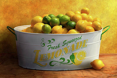 Photograph - Fruit - Lemons - When Life Gives You Lemons by Mike Savad