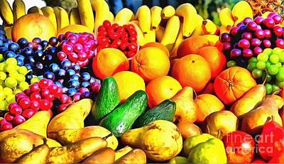 Banana Mixed Media - Fruit by Mylinda Revell