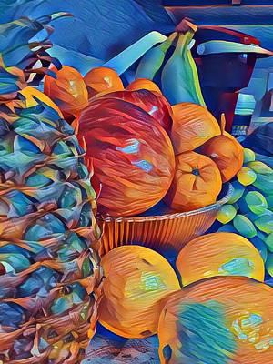 Digital Art Digital Art - Fruit Of Life by Art By Naturallic